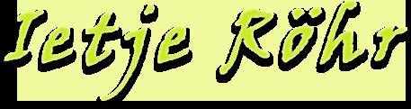 Logo Ietje Rohr